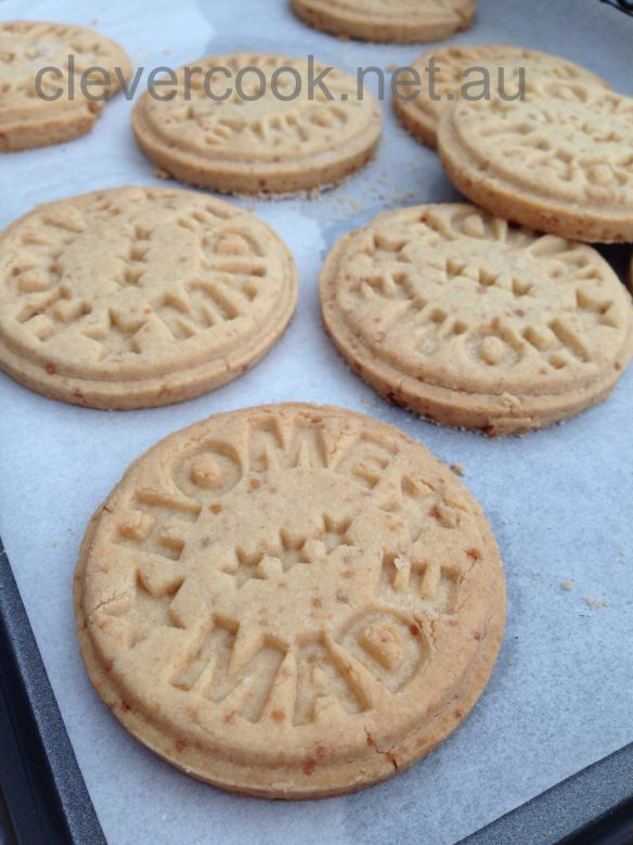 Recipe for homemade gluten free digestive biscuits