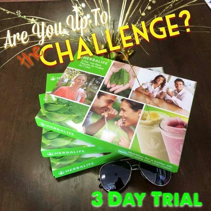54 best HERBALIFE 3 DAY TRIAL PACK images on Pinterest