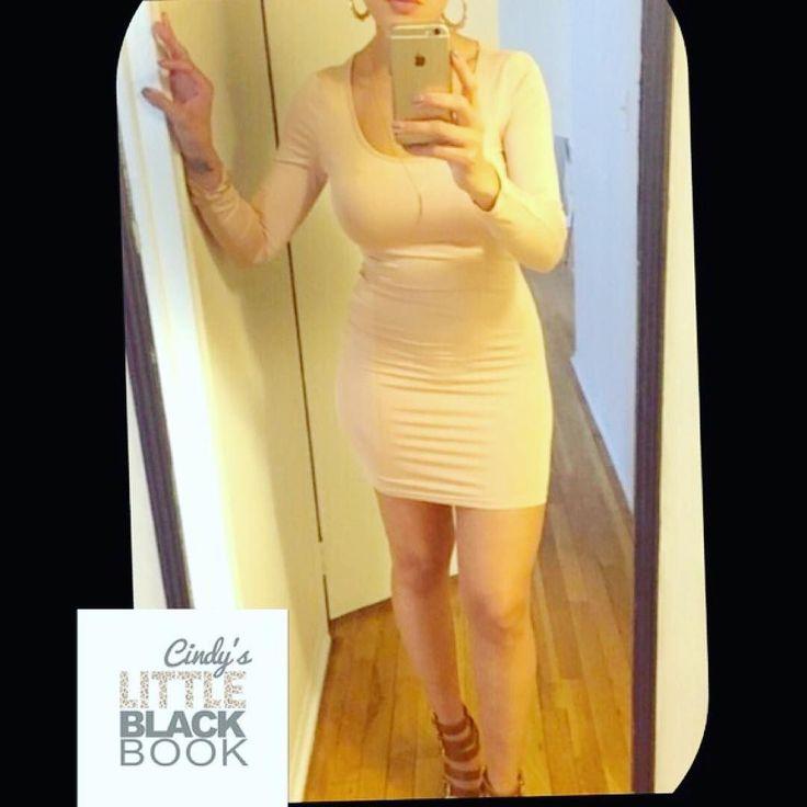 Nude Bodycon Dress  Shop My Poshmark Closet  #cindylbb #glamgirl