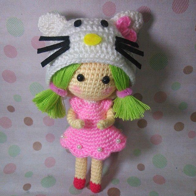 1000+ images about hello kitty amigurumi on Pinterest ...