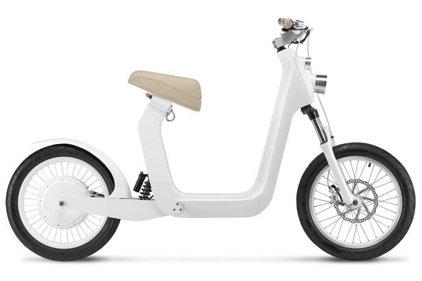 Modern and minimalist Xkuty Electric Bike allows you to easily cruising around even in traffic jam.