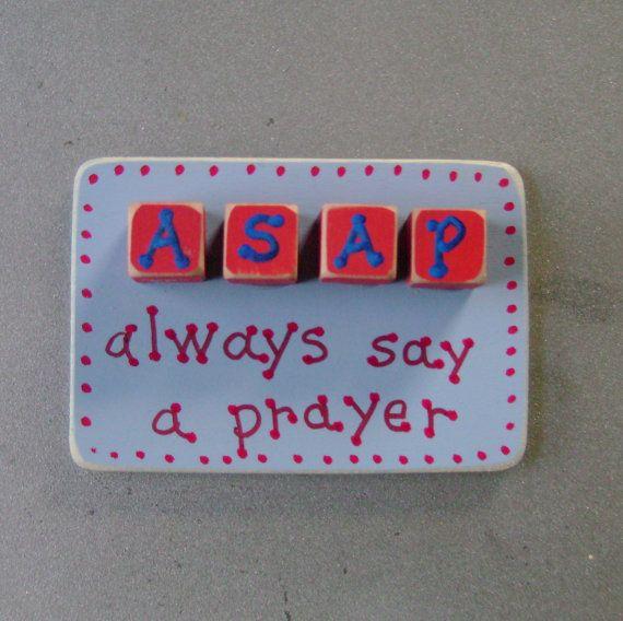 DOLLAR DAYS Closeout ASAP - Christian, Inspirational Magnet