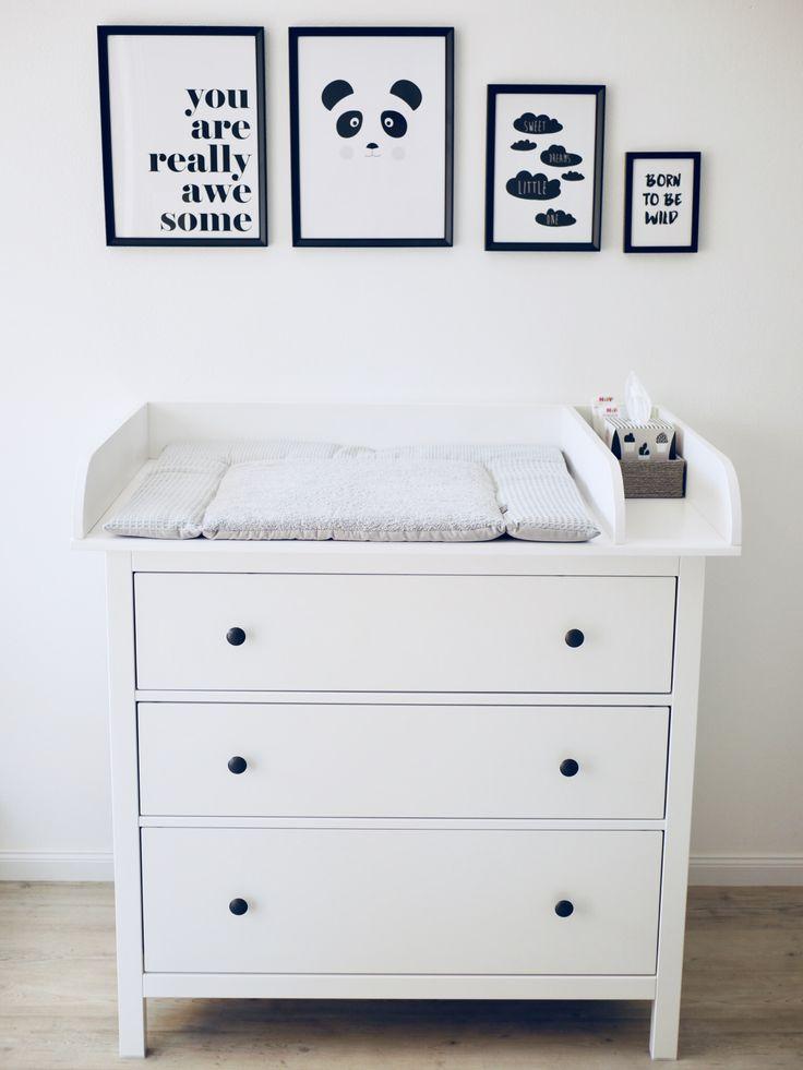 Table à langer Ikea Hemnes avec kit de remontage fait main   – N o r d i c B a b y R o o m
