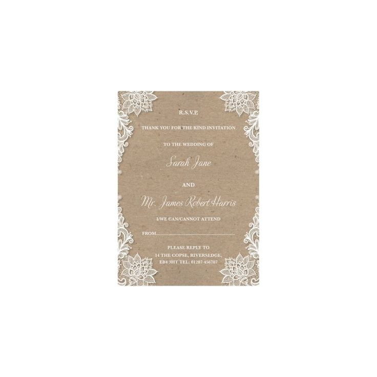 proper response time for wedding rsvp%0A Matching flat reply cards  include with your invitations  A simple way for  your guests