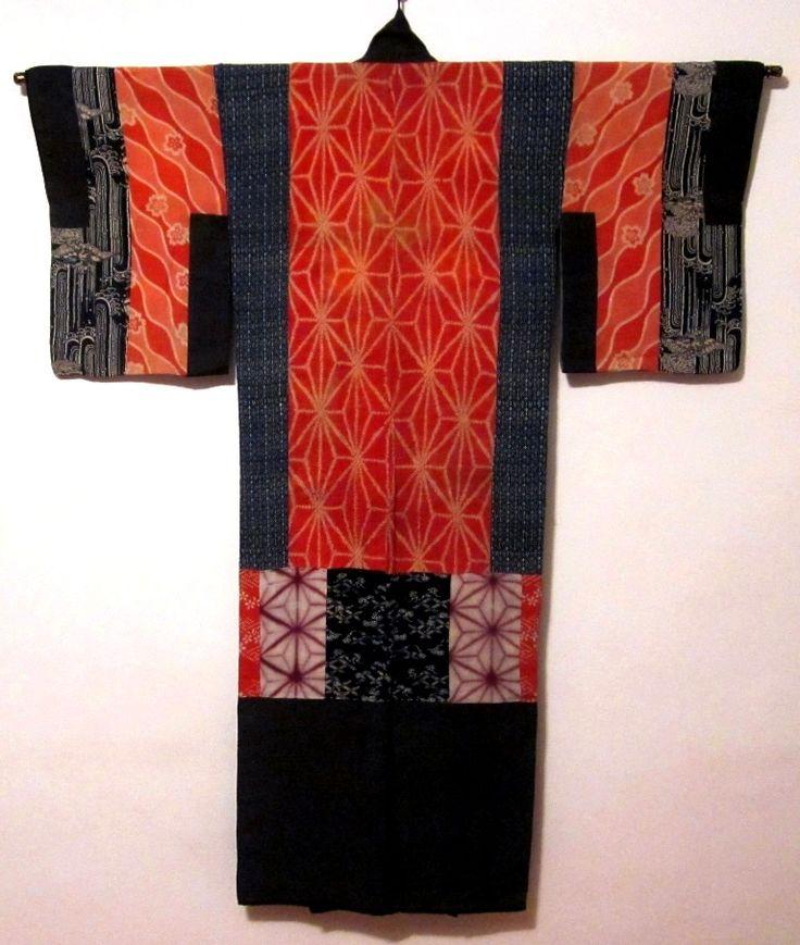 yosegire dounuki - back Daily Japanese Textile IMG_8957