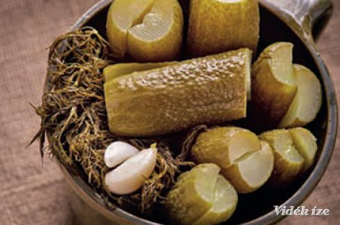 Gyors kovászos uborka - Vidék Íze