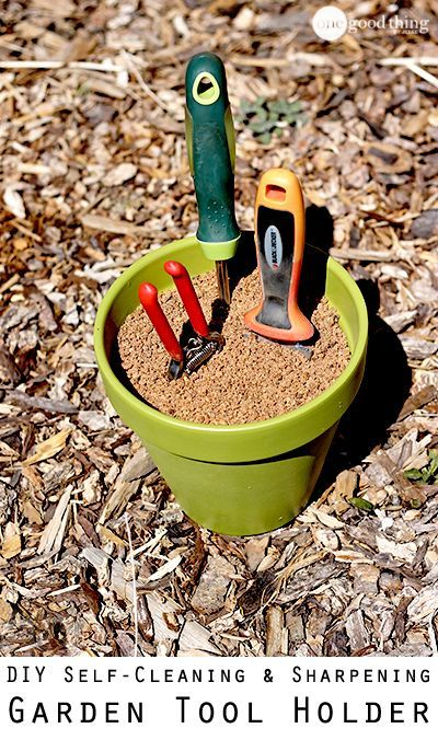 A super easy DIY project that will make one of your gardening chores easier!