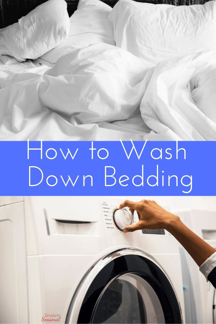 Decorative Feather Pillows Or Soft Down Bedding Can Feel Great Until You Get The Cleaning Bill Le Wash Feather Pillows Feather Pillows Bathroom Cleaning Hacks