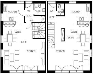 15+ best ideas about Doppelhaus Grundriss on Pinterest ...