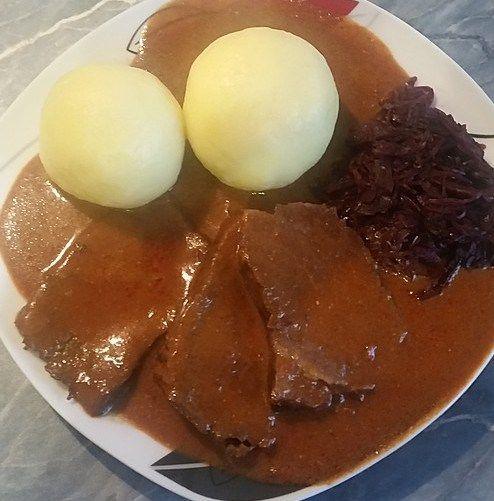 authentic german sauerbraten