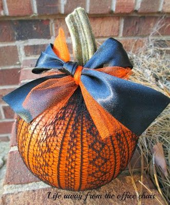 Just A Little Creativity: {15 Creative and Unique Pumpkin Projects}