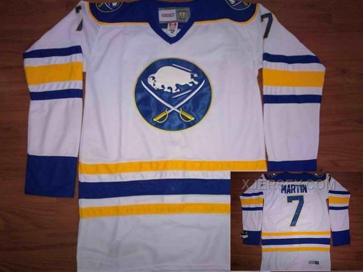boston xjersey nhl vancouver canucks now buy buffalo sabres 7 martin white jerseys save up from outlet