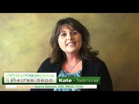 Kate Testimonial. Take a moment and listen to Kate and her experience at Dublin Metro Dental Group, Dublin, Ohio. Call us today to schedule a free cosmetic consultation or visit Us at www.DublinMetroDental.com or Follow Us on: www.Facebook.com/DublinMetroDental #porcelainveneers #cosmeticdentist #procelaincrown #dentalimplants #invisalign #oralhygiene #teethwhitening #dentistdublinohio #pediatricdentistry