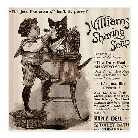 Vintage Williams Shaving Soap Ad