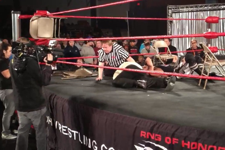 Steve Corino suffers potentially serious injury at Ring of Honor (ROH) TV tapings