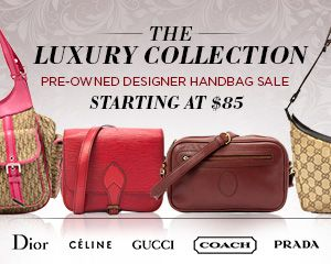 The Luxury Collection: Pre-Owned Designer Handbag Sale -   When a design is truly perfect, it withstands the test of time, and these designer handbags are a gorgeous example of that rule! Accessorize your modern looks with these simply beautiful pre-owned pieces from Louis Vuitton, Prada, and other fabulous brands. Each pre-loved bag is just waiting...  #Backpack, #Bucket, #Clutch, #ShoulderBag