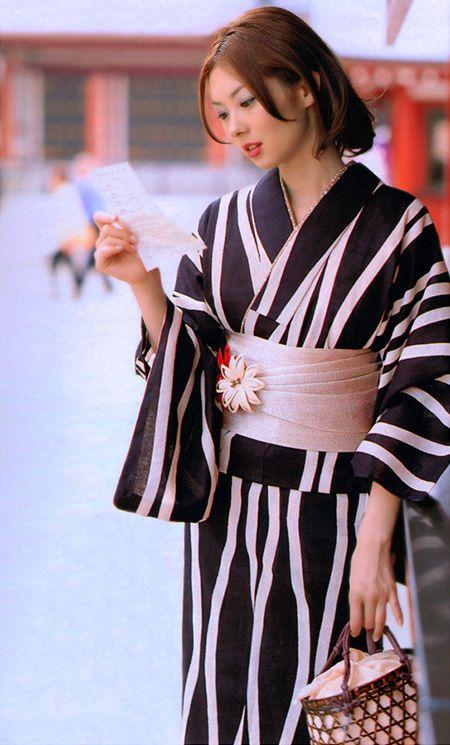 Yukata. Yukata is a kimono of casual wear in the summer. #Yukata #Japan