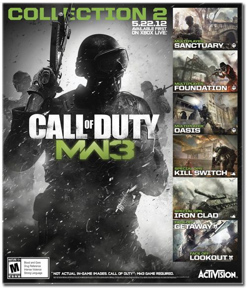 Modern Warfare 3: le Pack Collection 2 disponible dès aujourd'hui sur le Xbox Live http://blogosquare.com/modern-warfare-3-le-pack-collection-2-disponible-des-aujourdhui-sur-le-xbox-live/