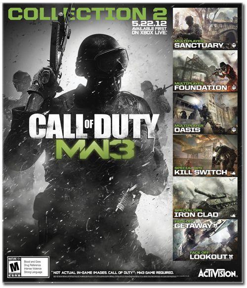Modern Warfare 3: le Pack Collection 2 disponible dès aujourd'hui sur le Xbox Live http://blogosquare.com/modern-warfare-3-le-pack-collection-2-disponible-des-aujourdhui-sur-le-xbox-live/