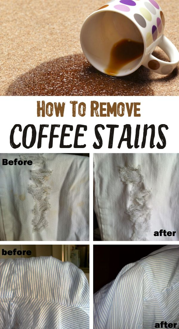1000 ideas about remove coffee stains on pinterest for How to get a coffee stain out of a shirt