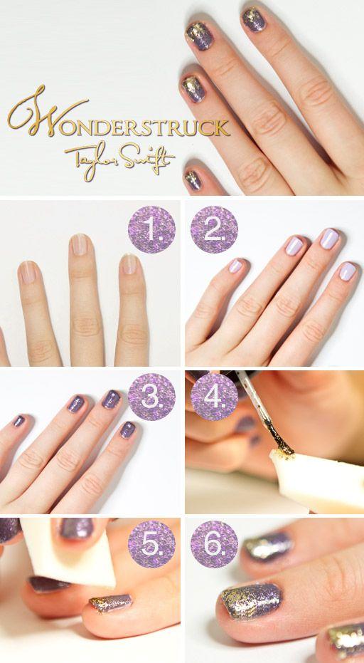 Wonderstruck: Taylors Swift Nails, Taylorswift, Nails Art, Wonderstruck Nails, Glitter Nails, Nails Ideas, Nails Polish, Art Nails, Nails Tutorials