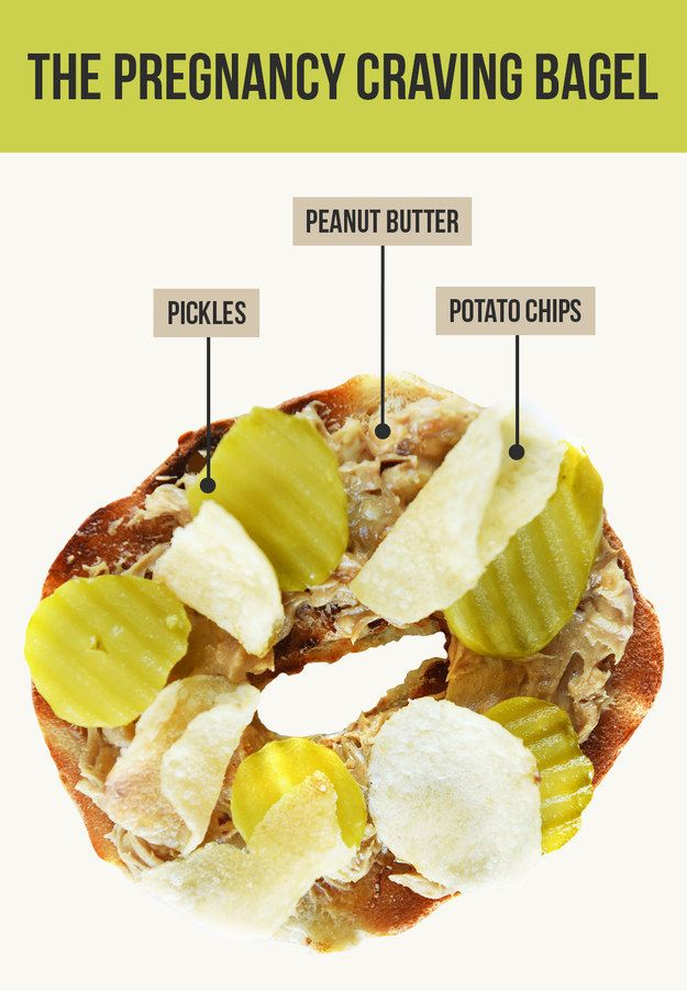The Pregnancy Craving Bagel | 15 Insane Bagel Topping Combos That Are Actually Brilliant