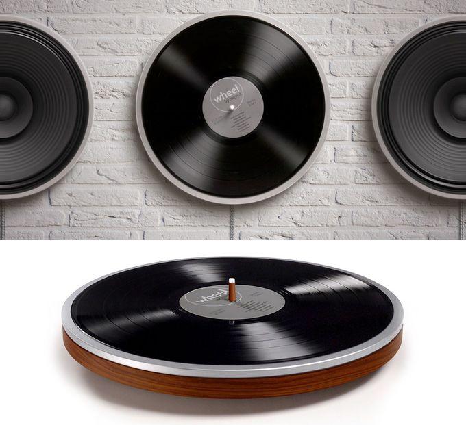 Wheel: Plattenspieler mit unsichtbarem Tonabnehmer - Engadget Deutschland