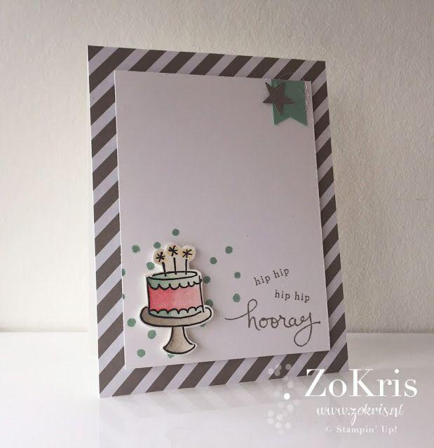 Stampin' Up! - Endless Birthday Wishes, Watercoloring - ZoKris