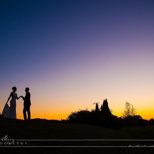 #sunset at @waterstoneweddings with Simon & Crystal on their beautiful #wedding day.