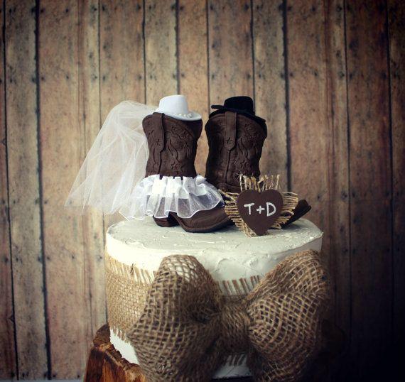 Doe and Buck cake topperDeer wedding cake by MorganTheCreator