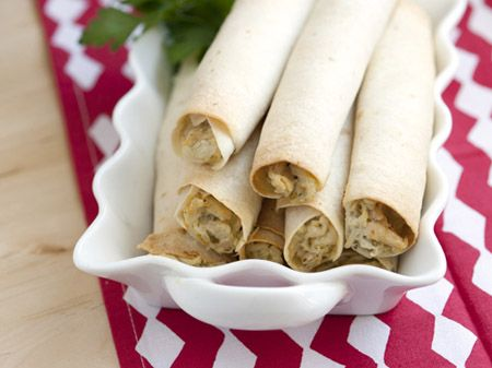 How to Make Taquitos  It's a breeze to make taquitos at home with this easy baked version.
