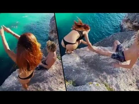 Jokes are falling people! Very funny fail girls! Compilation 2017 || Fun...