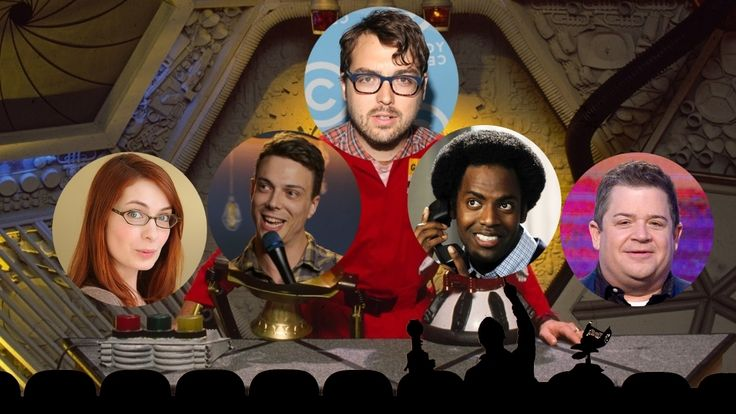 New MST3K cast is Jonah Ray, Felicia Day, Patton Oswalt, Hampton Yount, and Baron Vaughn - Flixist