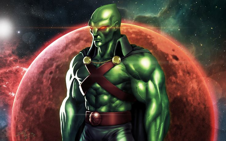 martian manhunter wallpapers and backgrounds