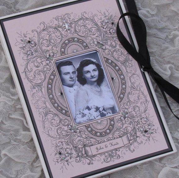 Personalised Custom Gift Personalised Black Photo Brag Album