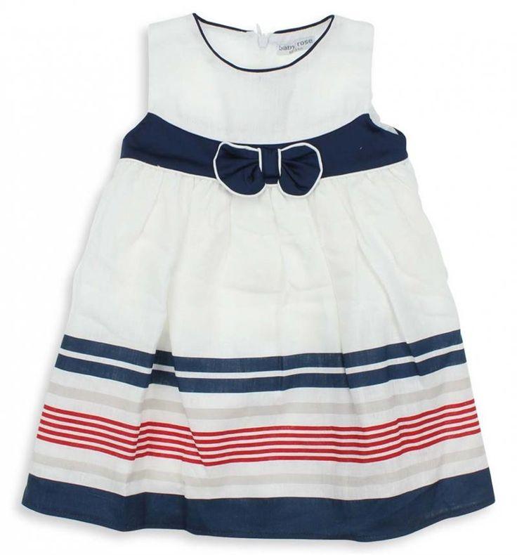 Jojo Mama Kız Cocuk Fiyonklu Elbise (9 Ay-4 Yas) 022-5237-012  Modelleri ve Uygun Fiyat Avantajıyla   Modabenle
