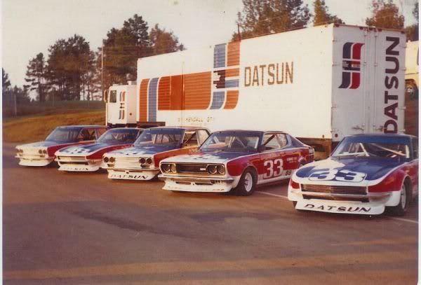 Rad Racer — radracerblog:   70′s Datsun Race Team
