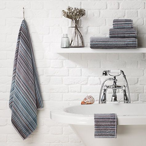 buy steel john lewis spirit stripe towels from our towels range at john lewis free delivery on orders over