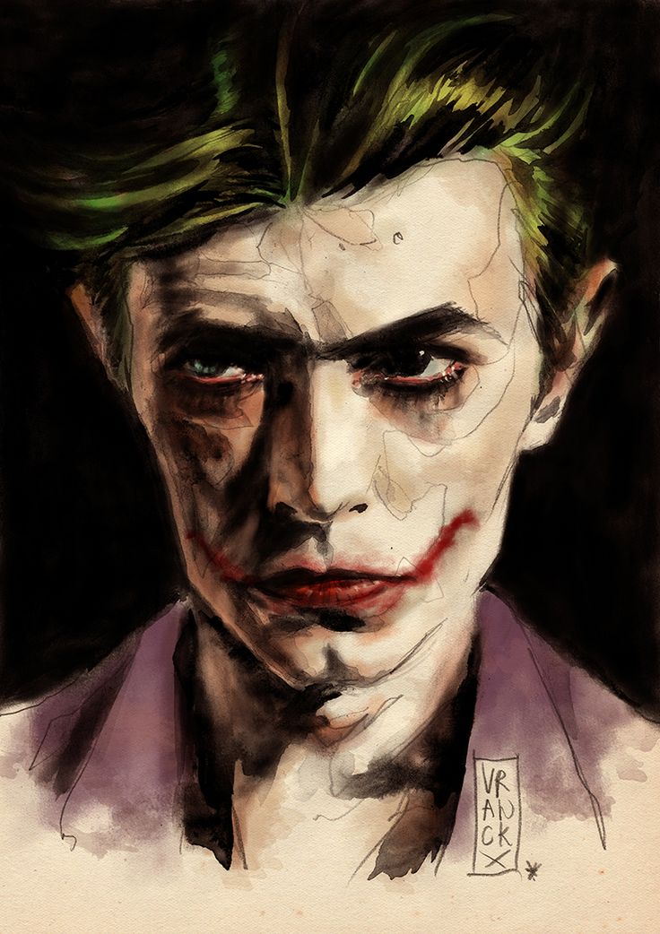 In Grant Morrison's run on Batman, the scribe took inspiration from David Bowie for his unique take on the Joker.