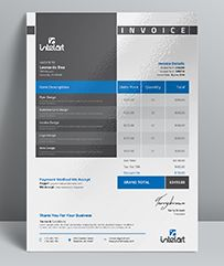 Invoice Word Template for personal, corporate or company billing purpose. This Simple Invoice will help you to create your invoice very quick and easy. This Elegant Invoice Design will convey ...