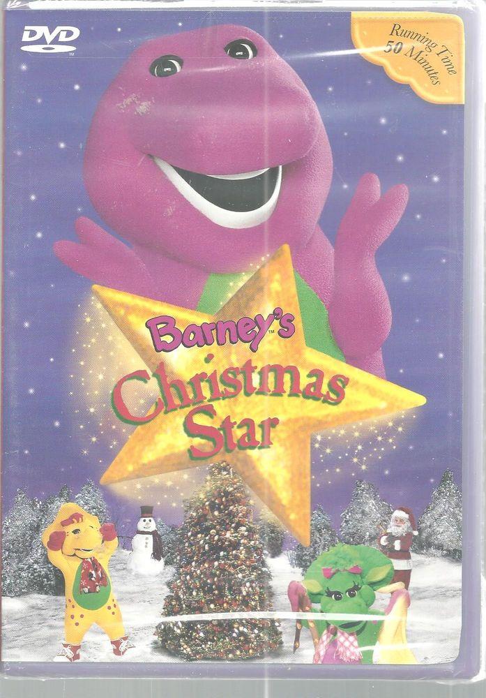 Barney\'s Christmas Star Childrens DVD 2002 NEW   Online Sellers ...