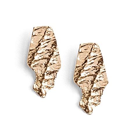 Mica stud earrings
