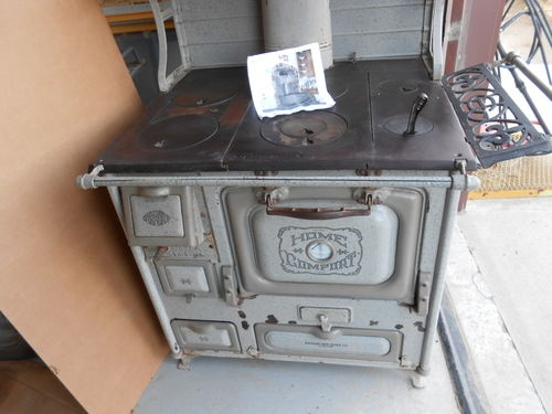 Early 1930s Antique Home Comfort Wood Cook Stove in Good Usable Condition |  eBay - 9 Best Wood Stoves Images On Pinterest