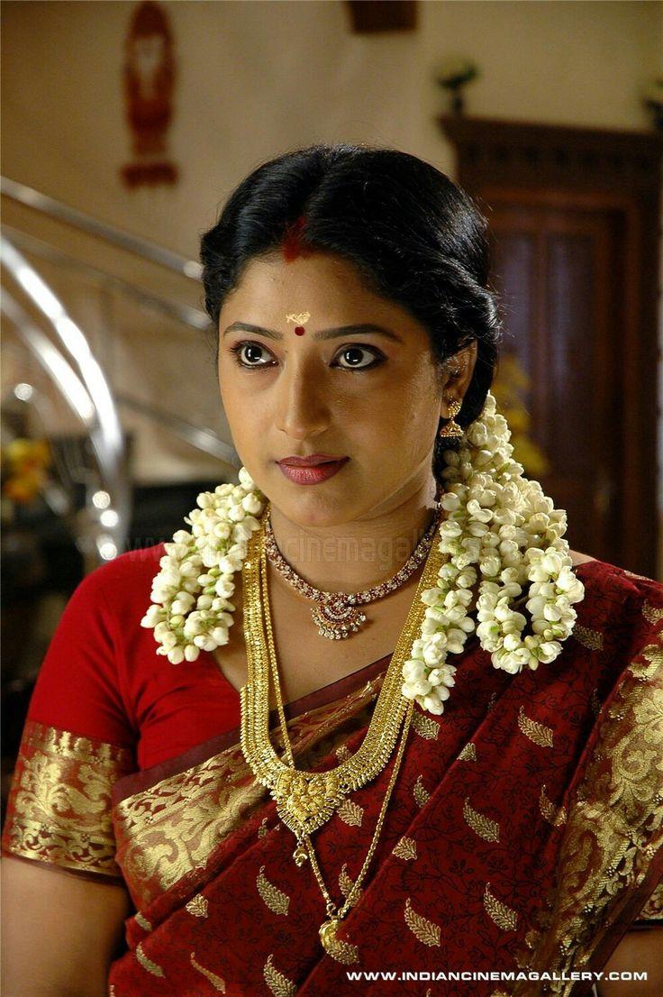 Traditional South Indian Look  Women Bride, Half Saree, Saree-5341