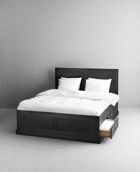 kopardal bed frame gray lury queen bed with drawersqueen