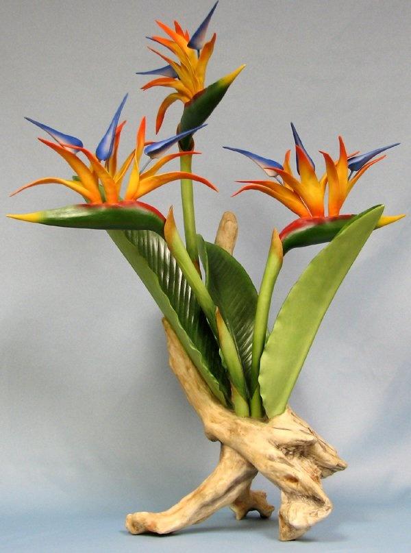 boehm bird of paradise, color inspiration