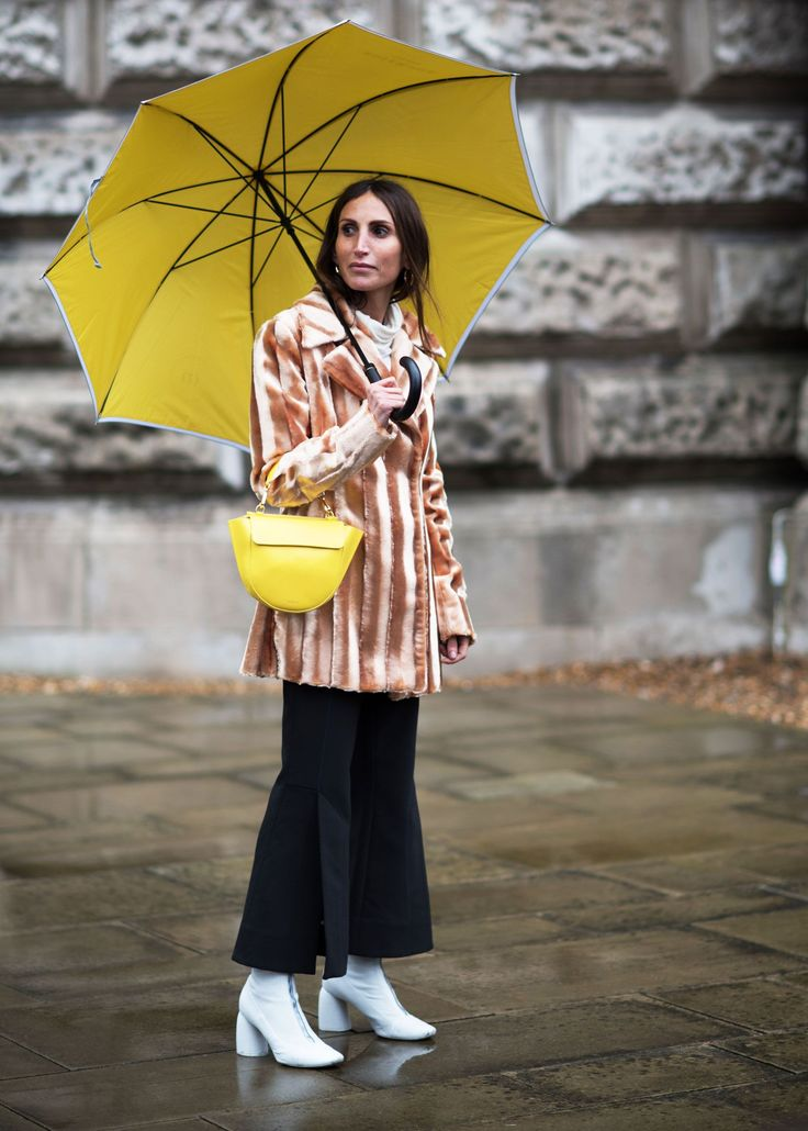 The style at London Fashion Week is unparalleled for numerous reasons. Firstly, Londoners have a particular irreverence when it comes to putting an outfit together, happy to forgo conventional style rules to reach slightly off-kilter sartorial excellence. Backless kitten heels, fishnet socks,