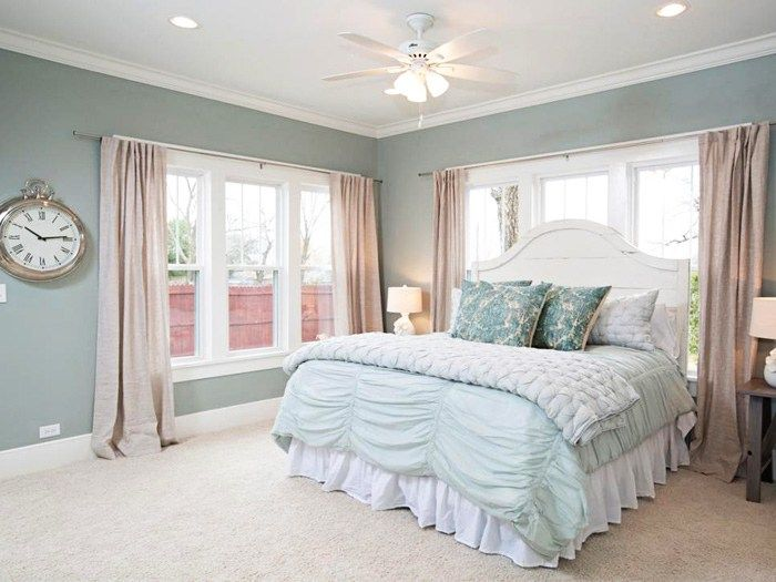 fixer upper paint colors joannas 5 favorites - Bedroom Colors