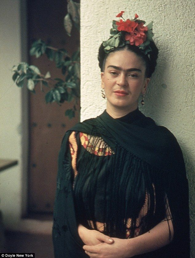 Secret romance: Mexican artist Frida Kahlo (pictured) wrote passionate love letters to Jose Bartoli from 1946 and 1949 while she was married to muralist Diego Rivera