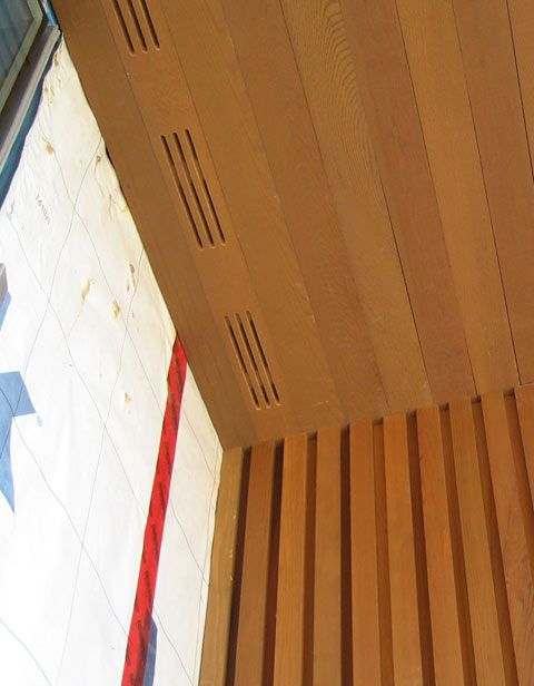 Wood Siding Ventilation : Detail soffit « home building in vancouver house